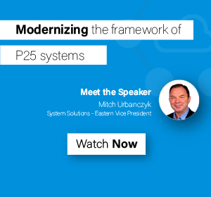 Mobile Image of Watch the Modernizing the Framework of LMR Systems webinar